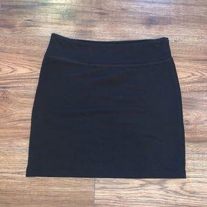 Garage black pencil skirt!